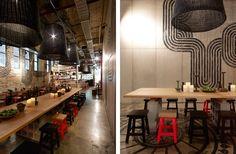 Decoração de Restaurante Mexicano arquitetura e design mexicano (10)-tile