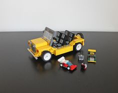 Lego Mini Moke Mk1 gathering support to become a real Lego set on: ideas.lego.com/projects/164733