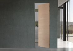 EU | Italian Frameless Doors in Wood and Glass by Cocif  $$$$