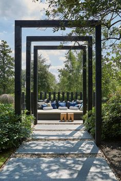 Style to Your Pergola multiple arbors. Style to Your Pergola multiple arbors.Style to Your Pergola multiple arbors. Diy Pergola, Small Pergola, Pergola Swing, Wooden Pergola, Outdoor Pergola, Pergola Plans, Pergola Kits, Pergola Ideas, Pergola Lighting