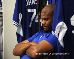 Jansen 3/19/14 Los Angeles Dodgers Workout at Sydney Crickett Ground by Jon SooHoo