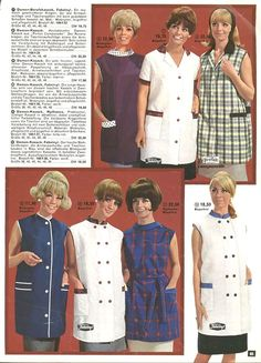 Nylons, Blouse Nylon, Housecoat, Overalls, Shirt Dress, Hair, Shirts, Dresses, Fashion