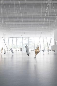 """Tatiana Trouve, Tatiana TROUVE  View of the exhibition """"I tempi doppi """" in 2014 at Museion Bolzano (Italie)     Courtesy Galerie Perrotin"""