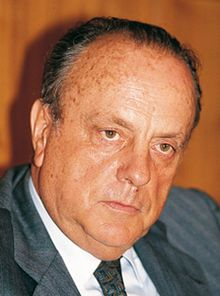 February 5, 1990 – Manuel Fraga becomes the president of Galicia, Spain.
