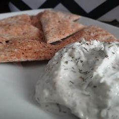 Tzatziki Sauce -Yogurt and Cucumber Dip Allrecipes.com Photo by HouseofAqua