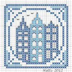 Part 7 of the SAL Delft Blue Tiles 2012