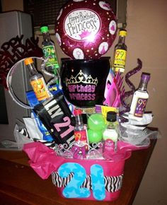 21st birthday bucket idea!!