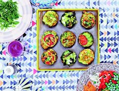 Hemsley & Hemsley share these tasty vegetable muffin recipe! Great for packed lunches and on-the-go breakfasts! Veggie Recipes, Vegetarian Recipes, Healthy Recipes, Veggie Meals, Paleo Meals, Healthy Breakfasts, Lunch Recipes, Healthy Foods, Keto Recipes