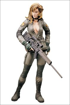 metal gear solid I hate her. Pain in the ass to beat.