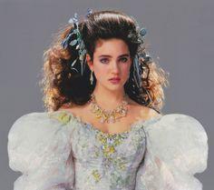 sarahs dress labyrinth | wedding dress after sarah s masquerade dress