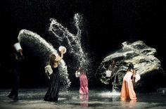 Pina, a film about the choreography of Pina Bausch, is a visual feast. I know little about modern dance, but this is extraordinary.