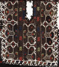 Traditional embroidery adorning women's clothing, from the Pleven area (northern Bulgaria).