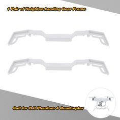 1 Pair Newest Heighten Landing Gear Frame Gimbal Protector for Protection DJI Phantom 4 Quadcopter