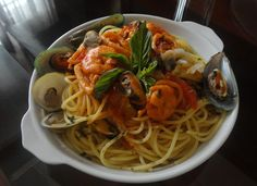 My Cooking Experiment Seafood Pasta, Experiment, Spaghetti, Cooking, Ethnic Recipes, Kitchen, Noodle, Brewing, Cuisine