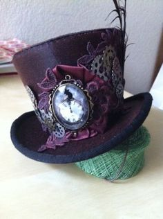 Steam punk by WENDY FREANEY - HAT CANDY #millinery #hat #HatAcademy