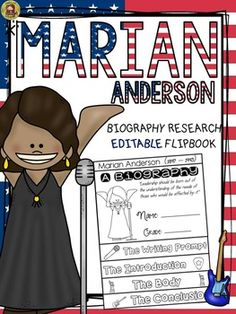 black history biography marian anderson