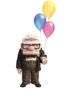 Pixar — There's just something about a curmudgeonly old. Disney Up, Disney Magic, Disney Movies, Walt Disney, Disney Stuff, Disney Theme, Carl Fredricksen, Up Pixar, Disney Drawings