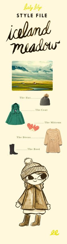 Fun Icelandic inspired kids outfit at Lately Lily. (Love the Zara kids boots!)