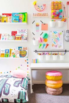 20 Homework Station Ideas for Kids and Teens. 20 Homework Station Ideas for Kids and Teens. Create a dedicated homework station for the kids with these simple and inspiring design ideas that showcase a unique study environment for children. Kids Craft Storage, Craft Storage Ideas For Small Spaces, Craft Organization, Small Storage, Kids Bedroom Storage, Bedroom Organization, Organizing Ideas, Kids Study, Study Space