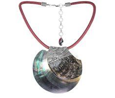 Collar Aquaterra Big Pendant de Nature Bijoux colección Aquaterra
