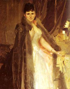Anders Zorn (1860 1920) - Mrs Symons