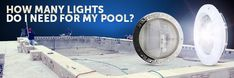 Choosing the right number of lights for your pool and positioning them correctly maximizes your pool's beauty and safety. Swimming Pool Lights, My Pool, Swimming Pools, Floating Pool Lights, Pool Sizes, Night Time, Shape, Pools, Swiming Pool
