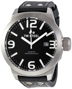 TW Steel Men's TW623 Icon Black dial Watch TW Steel. $182.90. Water-resistant to 330 feet (100 M). Metal case. Case diameter: 50 mm. Quartz movement. Durable mineral crystal protects watch from scratches. Save 38% Off!