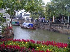 Zhouzhuang, a water village south west of Shanghai, touted Venice of the East.