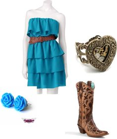 """Cute & Country"" by rylenlemons on Polyvore"