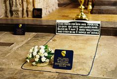 William Shakespeare's grave - Stratford-upon-Avon, England been here but didn't see the grave