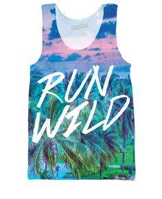 Run Wild Tank Top