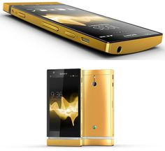 xperia P 24k Gold By Sony