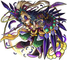 神化源義経 Puzzles And Dragons, Monster Strike, Fantastic Art, Character Design Inspiration, Copic, Unique Art, Character Art, Creatures, Artwork