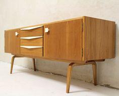 Franz Ehrlich; #427/K Elm Sideboard for VEB, c1964.