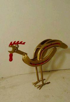 """Chicken Horse"" -Americanmetalart.net"