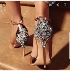 lola shoutique queen b rhinestone heels