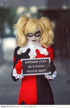 diy harley quinn costume - Google Search
