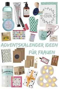 Adventskalender befüllen – Ideen für Frauen : Eine Liste mit 24 kleinen Ideen für den Adventskalender für die beste Freundin, Schwester oder Frau!