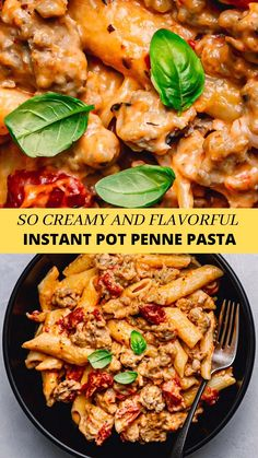 So delicious and easy to make! I really love this Instant Pot Penne Pasta recipe! This Instant Pot Penne Pasta with meat sauce is one of my favorite Italian pasta dishes. It's so comforting and satisfying. All of the ingredients are cooked in one pot. Best of all, it only takes 4 minutes of cooking time at high pressure. #instantpotpennepasta #instantpot #instantpotpasta #pennepasta #instantpotpenneandsausage #pasta #italianrecipes Quick Recipes, Side Dish Recipes, Delicious Recipes, Healthy Recipes, Instant Pot Pressure Cooker, Pressure Cooker Recipes, Lunch Ideas, Dinner Ideas, Penne Pasta Recipes