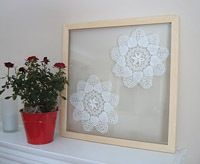 10 doily Projects that are pretty and pretty amazing.    These are so awesome!  Never even thought of using my doilies like this!  Now the mind is REALLY TURNING!  Thank you CraftFoxes  (Posted by CraftFoxes Staff on Aug 31, 2011)