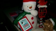 Frozen snow man dec 2014