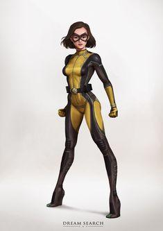 Drawing Superhero ArtStation - Z-girl, Yong Jae Park - Superhero Suits, Baby Superhero, Female Superhero, Superhero Characters, Superhero Design, Superhero Template, Super Hero Outfits, Super Hero Costumes, Marvel Girls