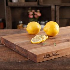 """The Pioneer Woman Cowboy Rustic 11"""" x 14"""" Acacia Wood Cutting Board, Brown -  for center of each table?"""