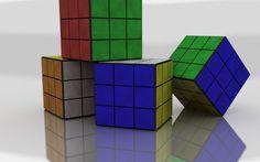 Rubiks Cube Colorful Size Shape