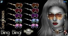 Glasses Collection The Sims 4 _ - Clove share Asia Tổng hợp Custom Content The Sims 4 game The Sims, Sims Cc, Bling Bling, Sims 4 Mods Clothes, Sims 4 Update, Sims 4 Custom Content, Character Inspiration, Round Sunglasses, Unique