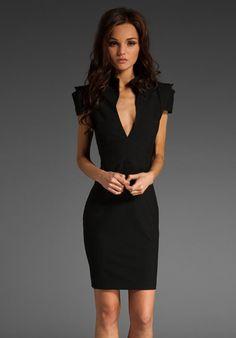 Black Halo Hanna Mini Dress Photograph