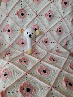 Teddy baby blanket Ayıcıklı bebek battaniyesi