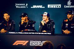 F1 Drivers, Lewis Hamilton, Grand Prix, United States, The Unit