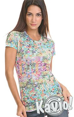 b3e1bcf78aae Junior Burnout Mosaic Sublimation Twisted Crew Neck Short Sleeve JAP0040  Mosaic