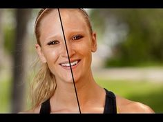Photoshop Tutorial Skin Tone - Editing a Tan    TutorVid.com with other helpful fast tips